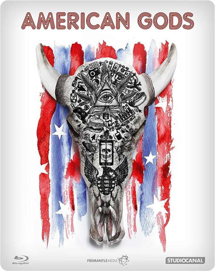 American Gods - Season 1 (Steelbook, 4 Blu-rays)
