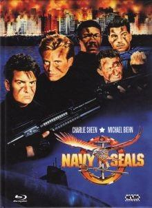 Navy Seals (1990) (Cover C, Limited Edition, Mediabook, Uncut, Blu-ray + DVD)