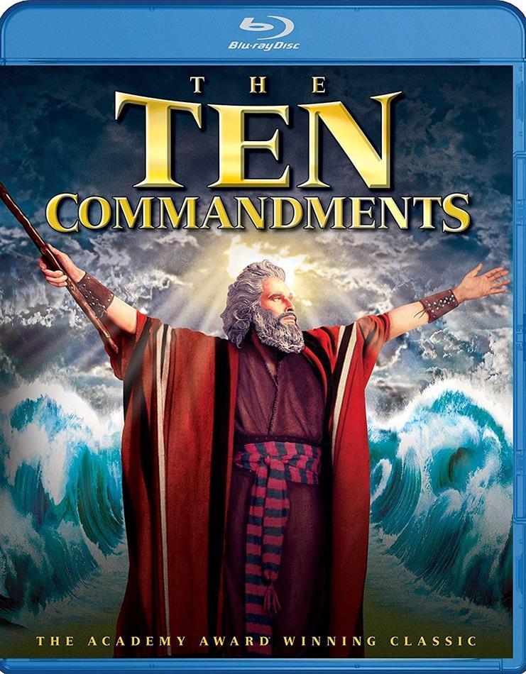 The Ten Commandments (1956) (2 Blu-rays)