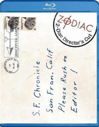 Zodiac (2007) (Director's Cut, 2 Blu-rays)