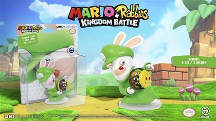 Figur Mario & Rabbids - Rabbid Luigi 3inch