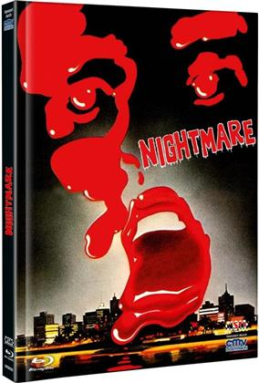 Nightmare (1981) (Cover C, Limited Edition, Mediabook, Uncut, Blu-ray + DVD)