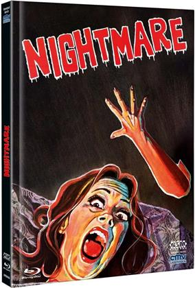 Nightmare (1981) (Cover B, Limited Edition, Mediabook, Uncut, Blu-ray + DVD)