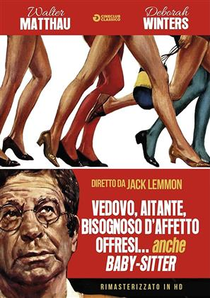 Vedovo, aitante, bisognoso d'affetto, offresi... anche babysitter (1971) (Cineclub Classico, Versione Rimasterizzata)