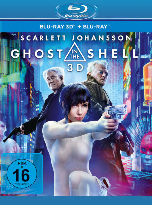 Ghost in the Shell - Realfilm (2017) (Blu-ray 3D + Blu-ray)