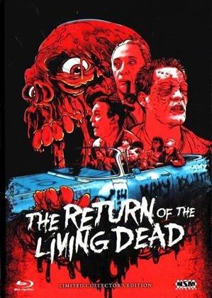 The Return of the Living Dead (1985) (Cover C, Collector's Edition, Limited Edition, Mediabook, Uncut, Blu-ray + DVD)