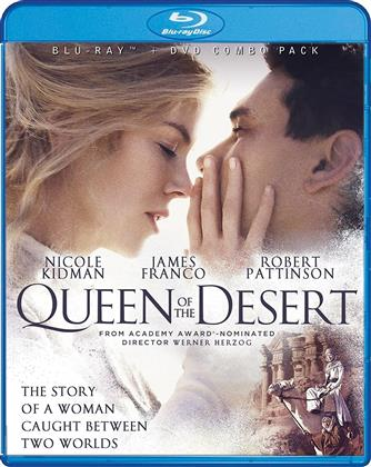 Queen Of The Desert (2015) (Blu-ray + DVD)