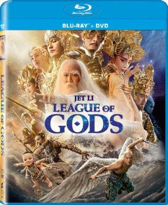 League Of Gods (2016) (Blu-ray + DVD)