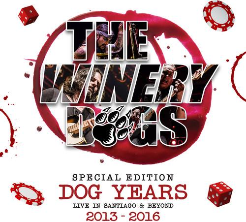 Winery Dogs - Dog Years - Live In Santiago (Deluxe Edition, Blu-ray + CD)
