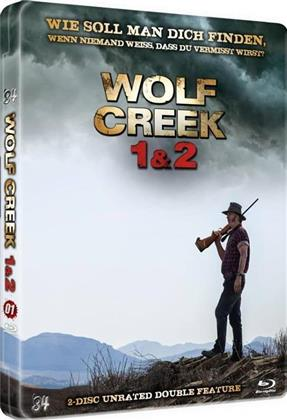 Wolf Creek 1 & 2 (Scary Metal Collection, Kinoversion, Limited Edition, Steelbook, Uncut, Unrated, 2 Blu-rays)