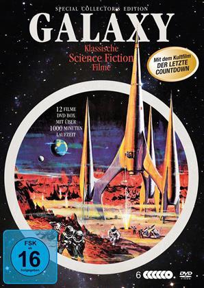 Galaxy - Klassische Science Fiction Filme - 12 Spielfilme Box (Special Edition, 6 DVDs)