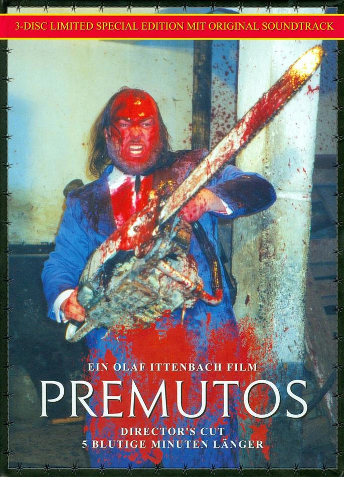 Premutos (1997) (Cover C, Director's Cut, Kinoversion, Limited Edition, Mediabook, Special Edition, Blu-ray + DVD + CD)