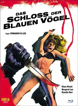 Das Schloss der blauen Vögel (1971) (Cover A, Eurocult Collection, Giallo Serie, Limited Edition, Mediabook, Blu-ray + DVD)
