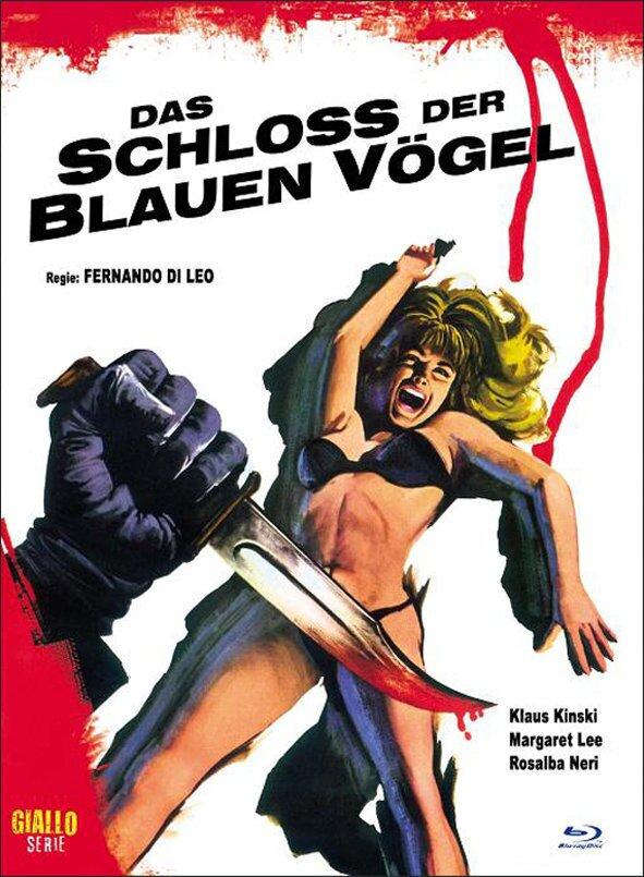 Das Schloss der blauen Vögel (1971) (Cover A, Eurocult Collection, Giallo Serie, Limited Edition, Mediabook, Blu-ray + DVD)