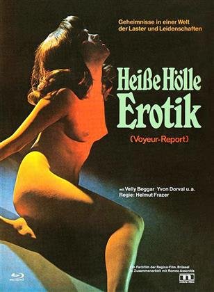Heisse Hölle Erotik - (Voyeur-Report) (1972) (Cover C, Eurocult Collection, Limited Edition, Mediabook, Special Edition, Blu-ray + DVD)