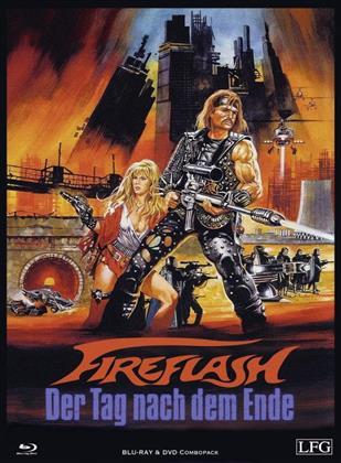Fireflash - Der Tag nach dem Ende (1983) (Cover A, Edizione Limitata, Mediabook, Uncut, Blu-ray + DVD)