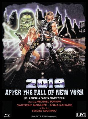2019 - After the Fall of New York - (2019 Dopo la caduta di New York) (1983) (Cover C, Edizione Limitata, Mediabook, Uncut, Blu-ray + DVD)