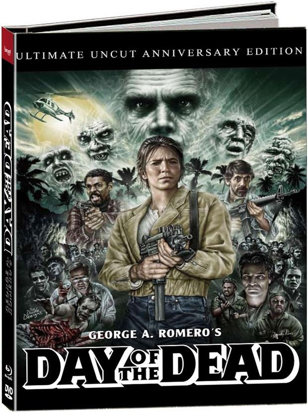 Day of the Dead (1985) (Cover B, Anniversary Edition, Limited Edition, Mediabook, Uncut, Blu-ray + DVD + 2 CDs)