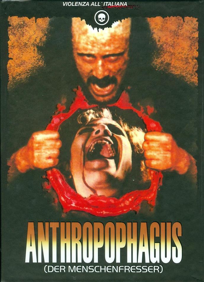 Anthropophagus - (Der Menschenfresser) (1980) (Cover C, Limited Edition, Mediabook, 2 Blu-rays + DVD + CD)