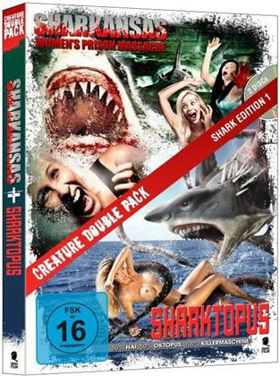 Sharkansas Women's Prison Massacre / Sharktopus (2 DVDs)