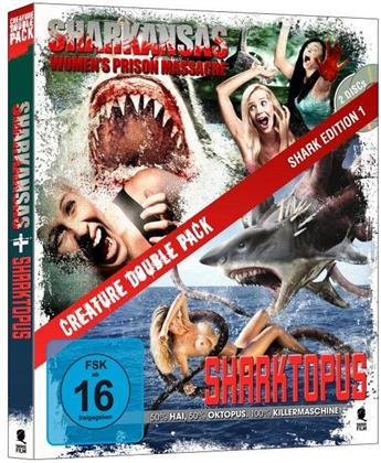 Sharkansas Women's Prison Massacre / Sharktopus (2 Blu-rays)