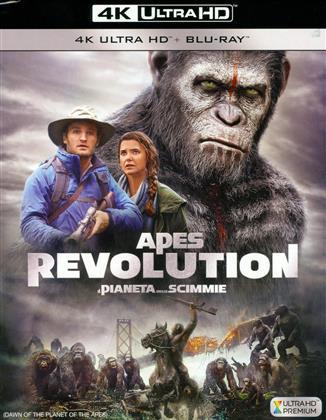 Apes Revolution - Il Pianeta delle Scimmie (2014) (4K Ultra HD + Blu-ray)