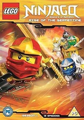 Lego Ninjago - Masters Of Spinjitzu - Season 1 - Rise of the Serpentine