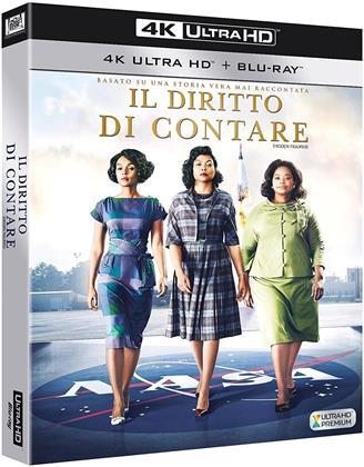 Il diritto di contare (2016) (4K Ultra HD + Blu-ray)