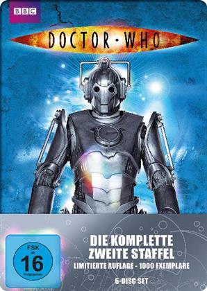 Doctor Who - Staffel 2 (Limitierte Auflage, FuturePak, BBC, 6 DVDs)