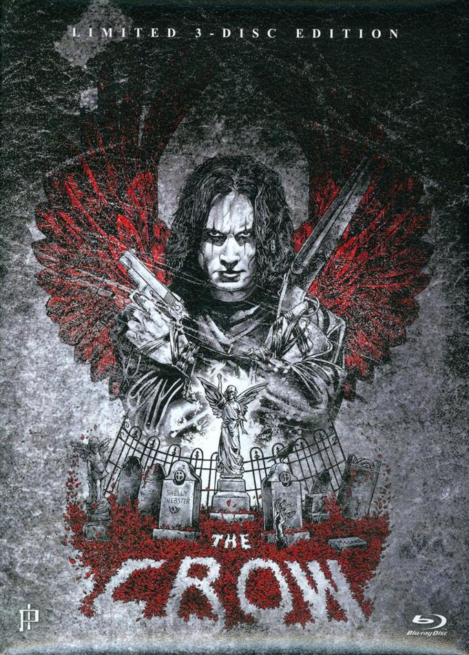 The Crow (1994) (Limited Edition, Mediabook, Uncut, Blu-ray + DVD + CD)