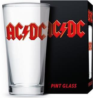 AC/DC: Logo - Bierglas [500ml]