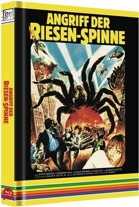 Angriff der Riesen-Spinne (1975) (Cover C, Limited Edition, Mediabook, Uncut, Blu-ray + 2 DVDs + CD)