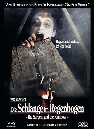 Die Schlange im Regenbogen (1988) (Cover A, Collector's Edition, Edizione Limitata, Mediabook, Uncut, Blu-ray + DVD)
