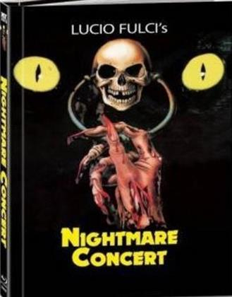 Nightmare Concert (1990) (Cover B, Limited Edition, Mediabook, Uncut, Blu-ray + DVD)