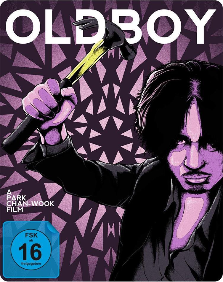 Oldboy (2003) (Limited Edition, Steelbook, Uncut, 2 Blu-rays)