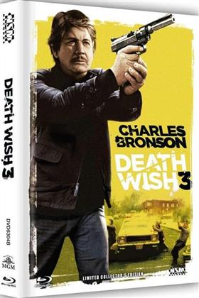 Death Wish 3 (1985) (Cover B, Collector's Edition, Limited Edition, Mediabook, Blu-ray + DVD)