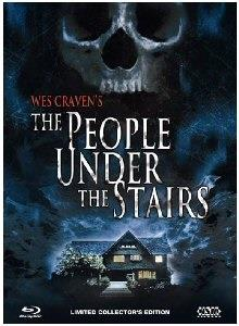 The People Under the Stairs (1991) (Cover B, Collector's Edition, Edizione Limitata, Mediabook, Uncut, Blu-ray + DVD)