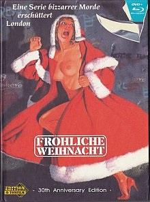 Fröhliche Weihnacht (1984) (Cover A, 30th Anniversary Edition, Limited Edition, Mediabook, Uncut, Blu-ray + DVD)