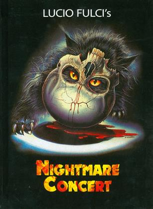 Nightmare Concert (1990) (Cover A, Limited Edition, Mediabook, Uncut, Blu-ray + DVD)
