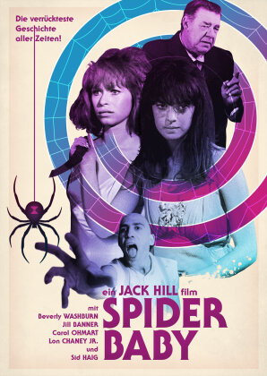 Spider Baby (1967) (Drive-In Classics, Limited Edition, Blu-ray + DVD)