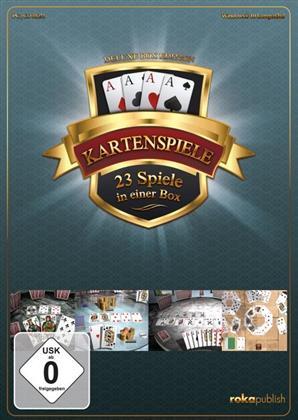 Kartenspiele - 23 Spiele in einer Box (Deluxe Box Edition)