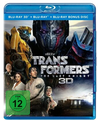 Transformers 5 - The Last Knight (2017) (Blu-ray 3D + 2 Blu-rays)
