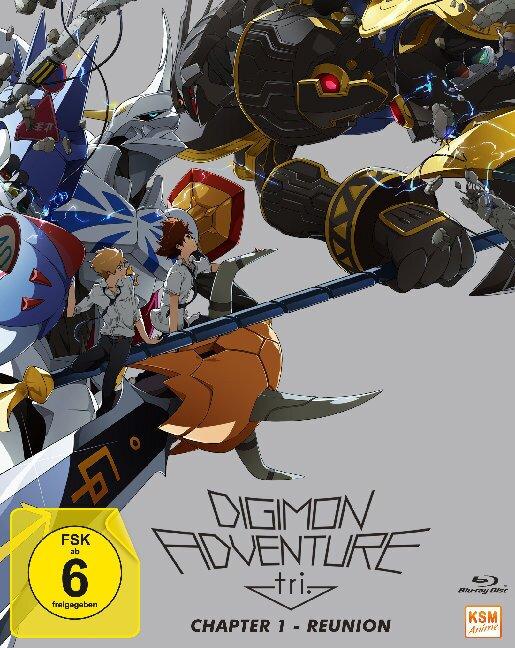 Digimon Adventure Tri - Chapter 1 - Reunion (2015)