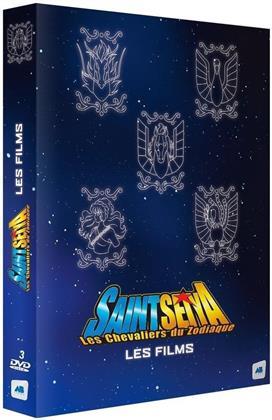 Saint Seiya - Les chevaliers du Zodiaque - Les Films (3 DVDs)