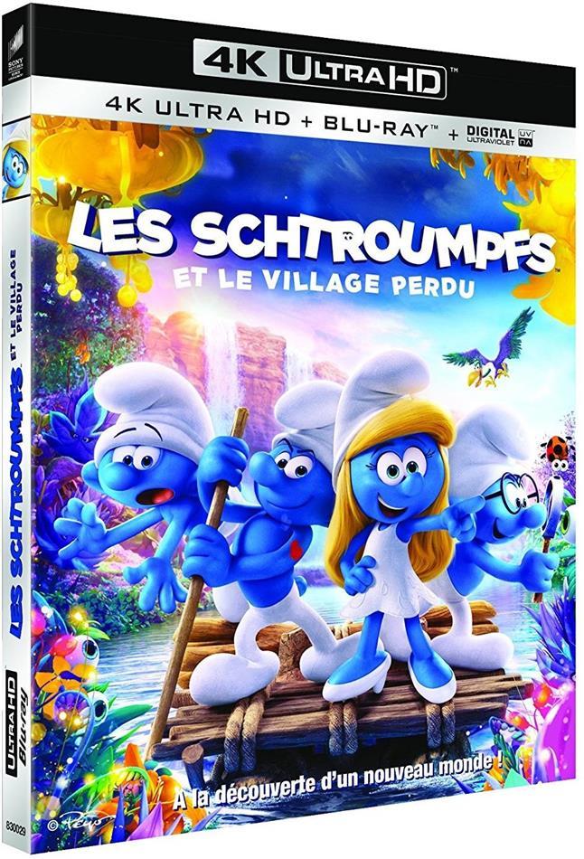 Les Schtroumpfs et le village perdu (2017) (4K Ultra HD + Blu-ray)