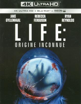 Life - Origine Inconnue (2017) (4K Ultra HD + Blu-ray)