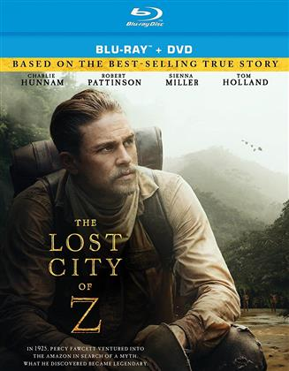 Lost City Of Z (2016) (Blu-ray + DVD)