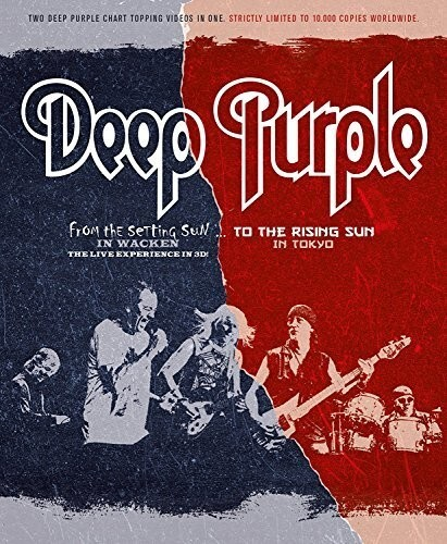 Deep Purple - From the Setting Sun... (in Wacken) / ...to the Rising Sun (in Tokyo) (Blu-ray 3D (+2D) + Blu-ray)