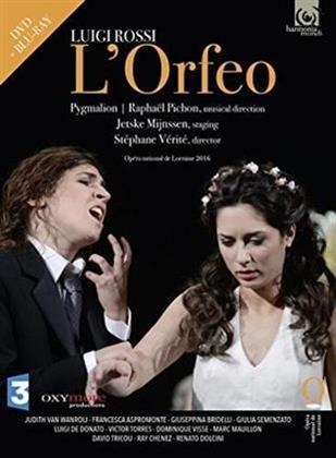 Ensemble Pygmalion, Raphael Pichon, … - Rossi - L'Orfeo (Harmonia Mundi, Blu-ray + DVD)