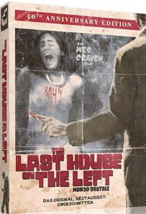 The Last House on the Left (1972) (DigiPak, Edizione 40° Anniversario, Edizione Limitata, Edizione Restaurata, Uncut, Blu-ray + 2 DVD)